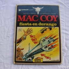 Cómics: TEBEO . MAC COY. FIESTA EN DURANGO. 1982. Lote 64916799
