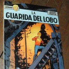 Cómics: LA GUARIDA DE FUEGO. LEFRANC Nº 4. JACQUES MARTIN. EDICIONES JUNIOR. TAPA DURA. GRIJALBO.1986. Lote 65437154