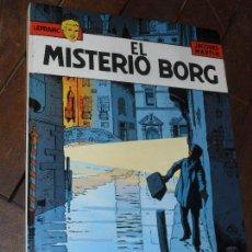 Cómics: EL MISTERIO BORG. LEFRANC. Nº 3. JACQUES MARTIN. EDICIONES JUNIOR. TAPA DURA. GRIJALBO.1986. Lote 65437169