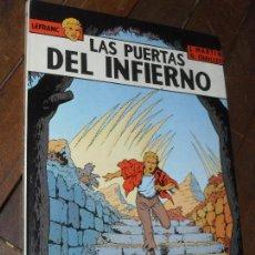 Cómics: LAS PUERTAS DEL INFIERNO. LEFRANC. Nº 5. JACQUES MARTIN. EDICIONES JUNIOR. TAPA DURA. GRIJALBO.1987. Lote 65437175