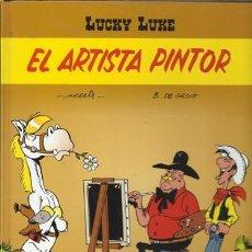 Cómics: LUCKY LUKE: EL ARTISTA PINTOR, 2001, 1ª EDICIÓN, BUEN ESTADO. Lote 187152715
