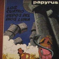Cómics: PAPYRUS--LOS CUATRO DEDOS DEL DIOS LUNA. Lote 65941562