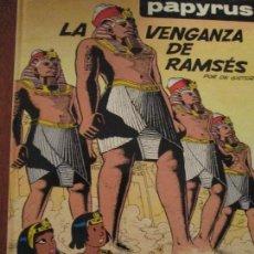 Cómics: PAPYRUS--LA VENGANZA DE RAMSES. Lote 65941990