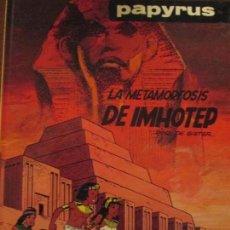 Cómics: PAPYRUS-LA METAMORFOSIS DE IMHOTED. Lote 65952798