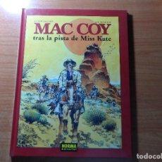 Cómics: MAC COY Nº 21. TRAS LA PISTA DE MISS KATE - NORMA EDITORIAL TAPA DURA . Lote 65983530