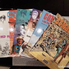 Cómics: LOTE DE 5 COMICS COMANCHE DE EDITORIAL BRUGUERA, OCASIÓN. Lote 66046726