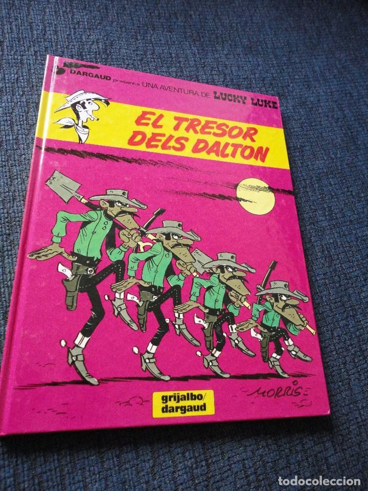 LUCKY LUKE EN CATALAN, CATALA - EL TRESOR DELS DALTON (Tebeos y Comics - Grijalbo - Lucky Luke)