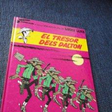 Cómics: LUCKY LUKE EN CATALAN, CATALA - EL TRESOR DELS DALTON. Lote 256068045