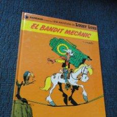 Comics: LUCKY LUKE EN CATALAN, CATALA - EL BANDIT MECANIC - EXCELENTE ESTADO. Lote 66050690