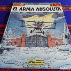 Cómics: LEFRANC Nº 8 EL ARMA ABSOLUTA. GRIJALBO 1988. BUEN ESTADO Y DIFÍCIL!!!!!. Lote 66192870