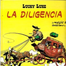 Cómics: MORRIS - LUCKY LUKE - LA DILIGENCIA - SALVAT 2001 - 1ª EDICION EN SALVAT - COMO NUEVO. Lote 66276866