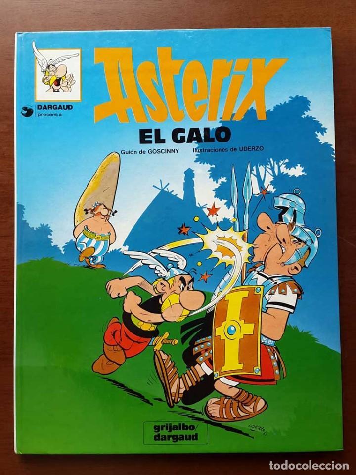 ASTERIX EL GALO. PRIMER NUMERO. PRESENTADO POR .DARGAUD. 1981 (Tebeos y Comics - Grijalbo - Asterix)