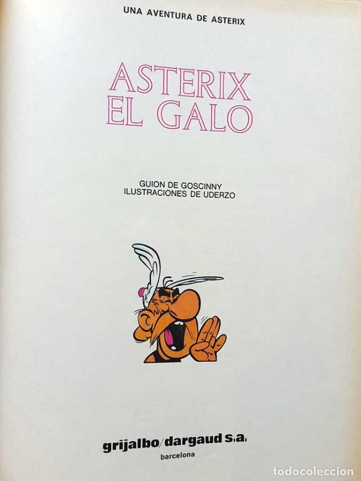 Cómics: ASTERIX EL GALO. Primer numero. PRESENTADO POR .DARGAUD. 1981 - Foto 2 - 66754770