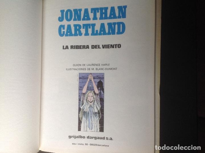 Cómics: Jonathan Cartland La ribera del viento 1985 muy bien conservado - Foto 5 - 66875178
