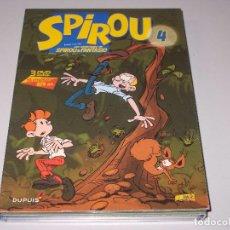 Comics: CAJA CON 2 DVD SPIROU CAPÍTULOS DEL 40 AL 48, FALTA CD 3. Lote 66907054