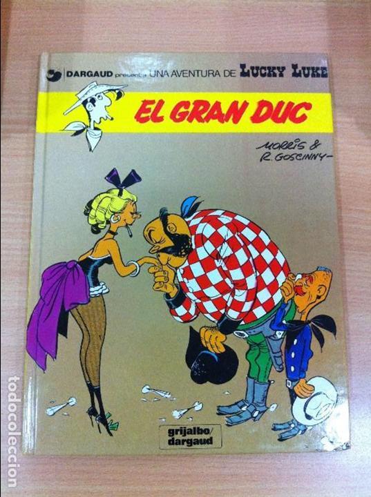 CÓMIC LUCKY LUKE Nº 3 - EL GRAN DUC. GRIJALBO, 1991. EN CATALÁN (Tebeos y Comics - Grijalbo - Lucky Luke)