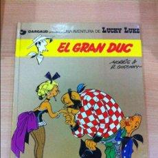 Cómics: CÓMIC LUCKY LUKE Nº 3 - EL GRAN DUC. GRIJALBO, 1991. EN CATALÁN. Lote 67295385