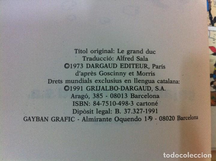 Cómics: CÓMIC LUCKY LUKE Nº 3 - EL GRAN DUC. GRIJALBO, 1991. EN CATALÁN - Foto 3 - 67295385