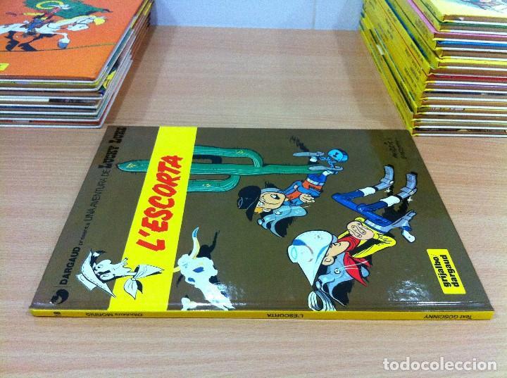 Cómics: CÓMIC LUCKY LUKE Nº 18 - L´ESCORTA. GRIJALBO, 1992. EN CATALÁN - Foto 2 - 67300433