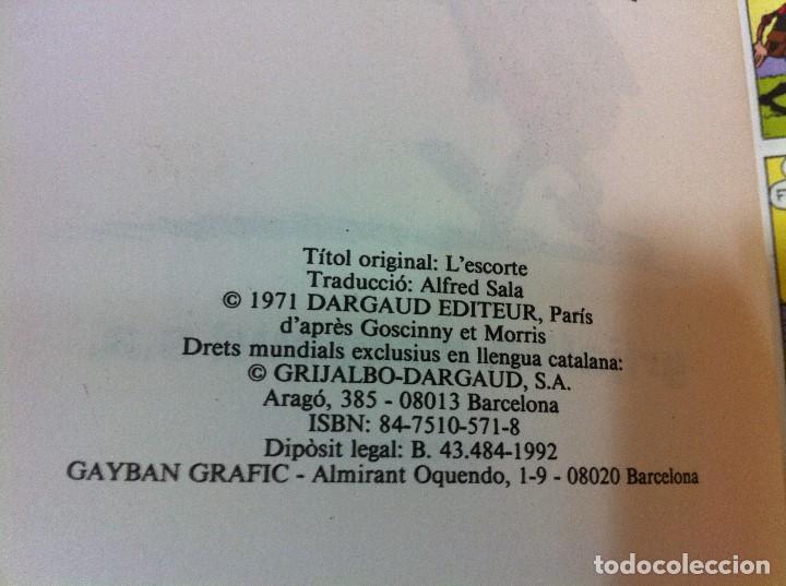 Cómics: CÓMIC LUCKY LUKE Nº 18 - L´ESCORTA. GRIJALBO, 1992. EN CATALÁN - Foto 3 - 67300433