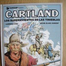Cómics: JONATHAN CARTLAND. LOS SUPERVIVIENTES DE LAS TINIEBLAS . Nº 7. LARENCE HARLE Y M. BLANC-DUMONT. Lote 67336301