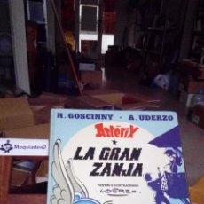 Cómics: ASTERIX: LA GRAN ZANJA (TAPA DURA , 1980). Lote 67654353