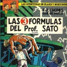 Cómics: BOB DE MOOR - BLAKE & MORTIMER - LAS 3 FORMULAS DEL PROFESOR SATO 2ª PARTE - ED. JUNIOR 1991 - BIEN . Lote 68334049