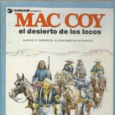 Cómics: MAC COY 14: EL DESIERTO DE LOS LOCOS, 1988, BUEN ESTADO. PALACIOS. Lote 77303695