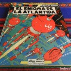 Cómics: BLAKE Y MORTIMER Nº 4, EL ENIGMA DE LA ATLÁNTIDA. GRIJALBO 1984. BUEN ESTADO.. Lote 69596317