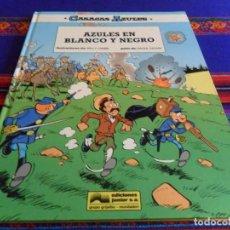 Cómics: CASACAS AZULES Nº 9, AZULES EN BLANCO Y NEGRO. GRIJALBO 1991. MUY BUEN ESTADO Y RARO.. Lote 69596541
