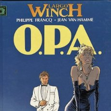 Cómics: LARGO WINCH-3: O.P.A., DE FRANCQ Y VAN HAMME (JUNIOR, 1993). Lote 69702733