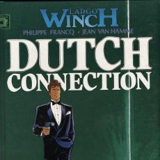 Cómics: LARGO WINCH-6: DUTCH CONNECTION, DE FRANCQ Y VAN HAMME (JUNIOR, 1995). Lote 69702901