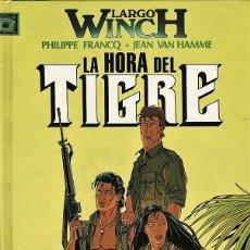 Cómics: LARGO WINCH-8: LA HORA DEL TIGRE, DE FRANCQ Y VAN HAMME (JUNIOR, 1997). Lote 69703045