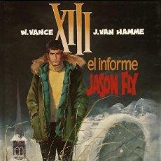 Cómics: XIII, TOMO 6: EL INFORME JASON FLY, DE VANCE Y VAN HAMME (GRIJALBO, 1990). Lote 69703633