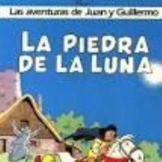 Cómics: LA PIEDRA DE LA LUNA, PEYO. LAS AVENTURAS DE JUAN Y GUILLERMO. Lote 70309765