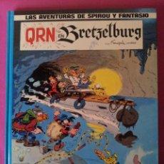 LAS AVENTURAS DE SPIROU Y FANTASIO Nº14 - QRN EN BRETZELBURG - EDICIONES JUNIOR,GRIJALBO 1982