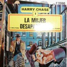Cómics: HARRY CHASE 1 - LA MUJER DESAPARECIDA - C. MOLITERNI, W. FAHRER - TAPA DURA GRIJALBO DARGAUD. Lote 70481453