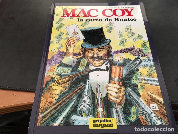 MAC COY Nº 19 LA CARTA DE HUALCO (GRIJALBO / DARGAUD ) TAPA DURA 1995 (COIB19) (Tebeos y Comics - Grijalbo - Mac Coy)