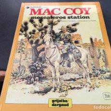 Cómics: MAC COY Nº 15 MESCALEROS STATION (GRIJALBO / DARGAUD ) TAPA DURA 1989 (COIB18). Lote 70576993