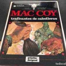 Fumetti: MAC COY Nº 7 TRAFICANTES DE CABELLERAS (GRIJALBO / DARGAUD ) TAPA DURA 1980 (COIB19). Lote 70577941