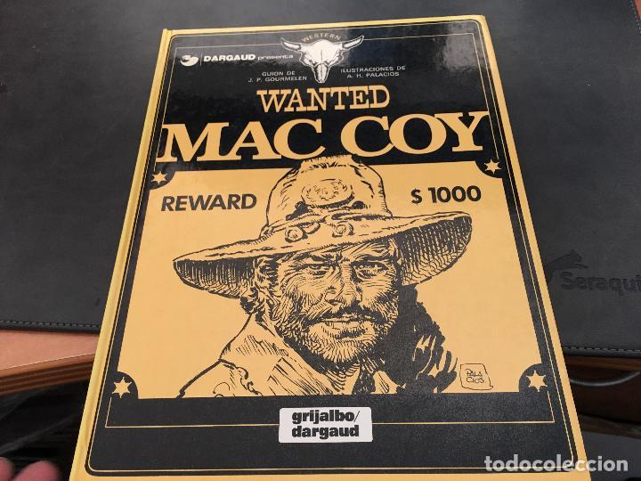 MAC COY Nº 5 WANTED (GRIJALBO / DARGAUD ) TAPA DURA 1980 (COIB19) (Tebeos y Comics - Grijalbo - Mac Coy)