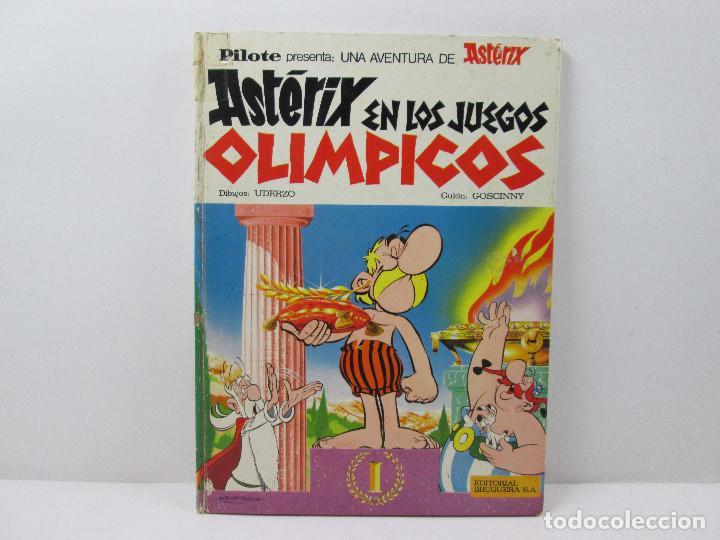 ASTERIX EN LOS JUEGOS OLIMPICOS - TAPA DURA AÑO 1968 (Tebeos y Comics - Grijalbo - Asterix)