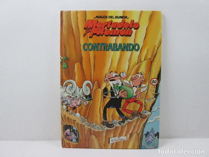 MORTADELO Y FILEMON CONTRABANDO - TAPA DURA (Tebeos y Comics - Grijalbo - Asterix)