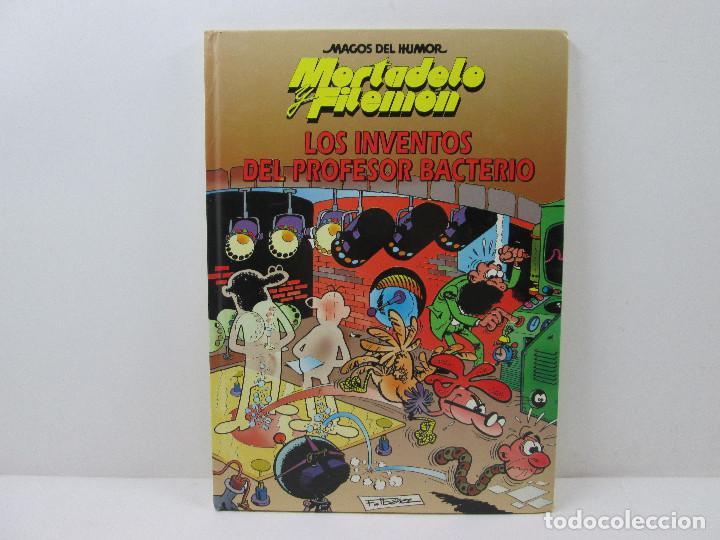 MORTADELO Y FILEMON LOS INVENTOS DEL DOCTOR BACTERIO - TAPA DURA (Tebeos y Comics - Grijalbo - Asterix)