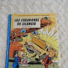 Cómics: LAS AVENTURAS DE SPIROU Y FANTASIO - LOS CREADORES DE SILENCIO N. 45. Lote 71089945