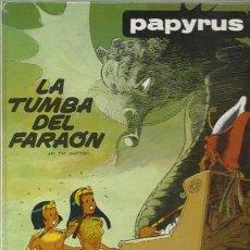 Cómics: PAPYRUS 4: LA TUMBA DEL FARAÓN, 1988, MUY BUEN ESTADO.. Lote 71497307