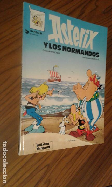 ASTERIX. ASTERIX Y LOS NORMANDOS. GOSCINNY. A. UDERZO. GRIJALBO. TAPA BLANDA. BUEN ESTADO. (Tebeos y Comics - Grijalbo - Asterix)