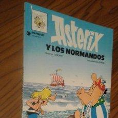 Cómics: ASTERIX. ASTERIX Y LOS NORMANDOS. GOSCINNY. A. UDERZO. GRIJALBO. TAPA BLANDA. BUEN ESTADO.. Lote 71503359