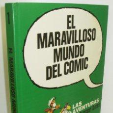 Cómics: EL MARAVILLOSO MUNDO DEL COMIC 1 LAS AVENTURAS DE LUCKY LUKE-GRIJALBO-DARGAUD 1988 PLAZA & JANES. Lote 71554715