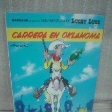 Cómics: LUCKY LUKE Nº 39 - CARRERA EN OKLAHOMA - GRIJALBO. Lote 71590983